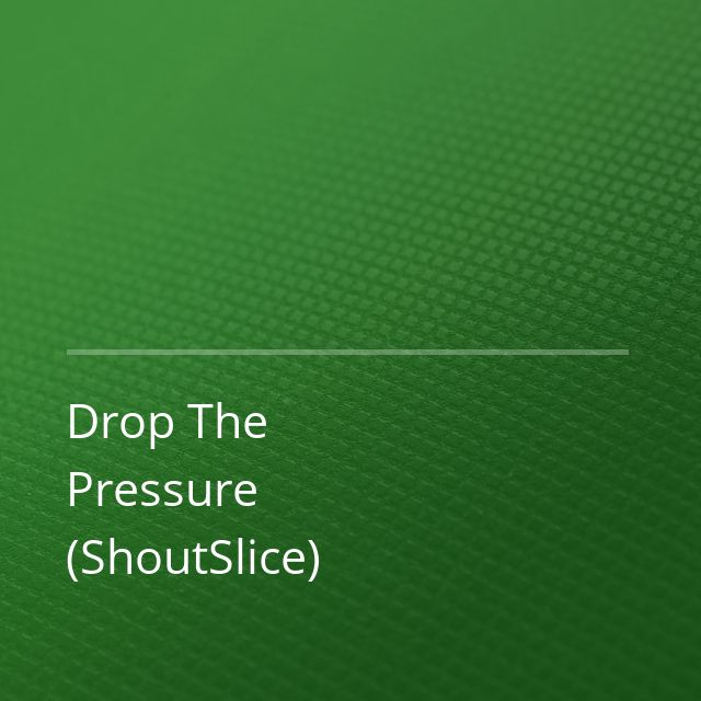 Mylo/Claptone - Drop The Pressure (ShoutSlice)