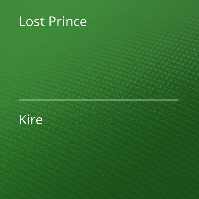 Lost Prince - Kire