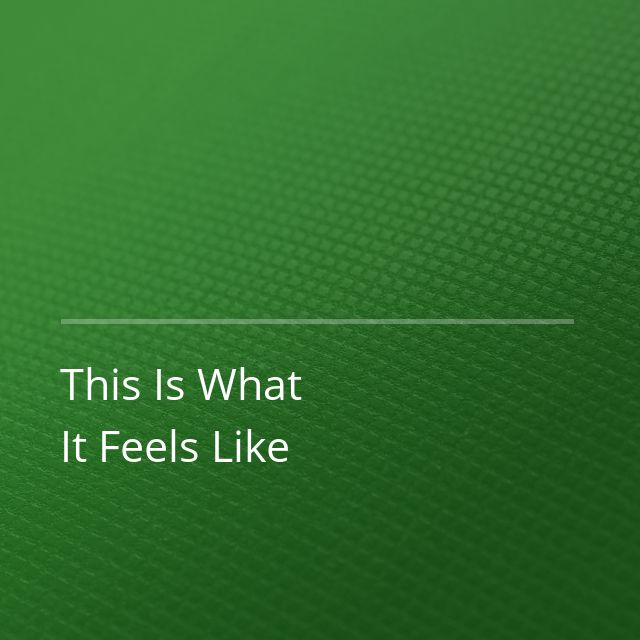 Armin van Buuren/Trevor Guthrie - This Is What It Feels Like